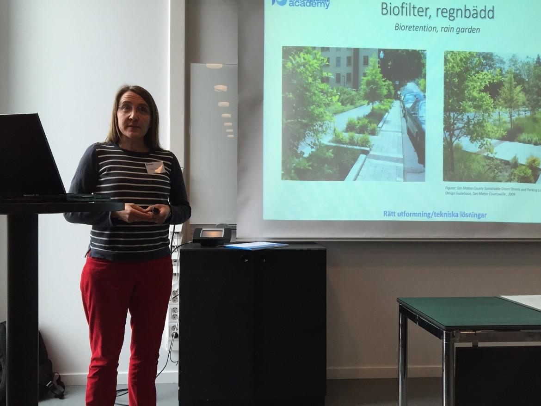 WRS föreläser på Rent Dagvatten-kurs