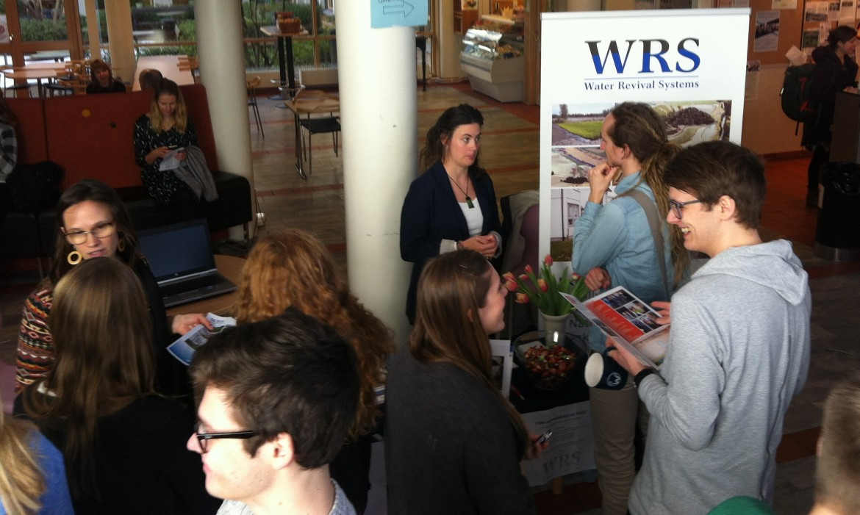 WRS träffar miljö- och vatteningenjörsstudenter
