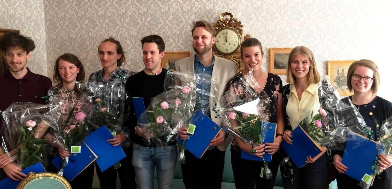 Uppsatsstipendium till Hannes