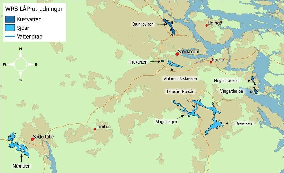 Lokala åtgärdsprogram för kustvatten, sjöar och vattendrag