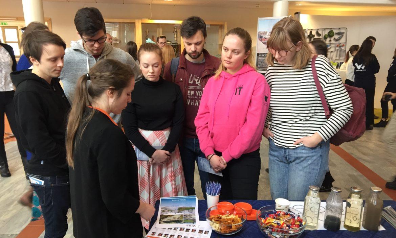 WRS träffade miljö- och vatteningenjörsstudenter