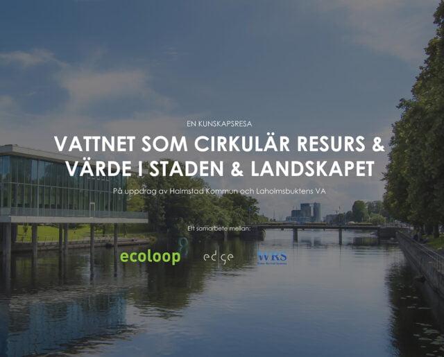 WRS bidrar till hållbar dagvattenhantering i Halmstad