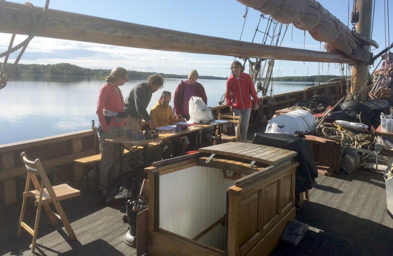 WRS medverkar i historisk undersökning av grunda havsvikar